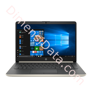 Picture of Notebook HP 14s-cf1015TX [5QG70PA] Gold